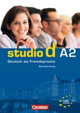 studio d. Gesamtband 2. Sprachtraining