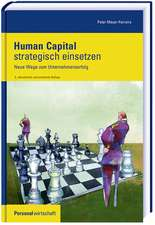 Human Capital strategisch einsetzen