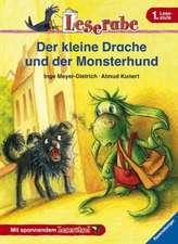 Der kleine Drache und der Monsterhund: Leserabe mit Mildenberger. Leichter lesen lernen mit der Silbenmethode