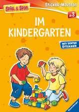 Mein Ravensburger Sticker-Malspaß: Im Kindergarten