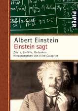 Einstein sagt