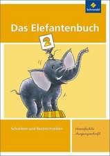 Das Elefantenbuch 2. Arbeitsheft. Vereinfachte Ausgangsschrift
