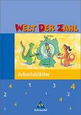 Welt der Zahl 4. Arbeitsheft. Hessen, Rheinland-Pfalz, Saarland. Neubearbeitung