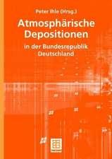 Atmosphärische Depositionen in der Bundesrepublik Deutschland