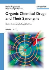 Organic–Chemical Drugs and Their Synonyms: 7 Volume Set
