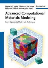Advanced Computational Materials Modeling: From Classical to Multi–Scale Techniques