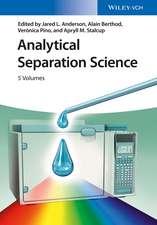 Analytical Separation Science: 5 Volume Set