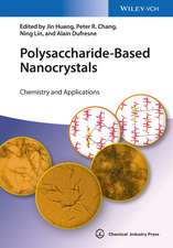 Polysaccharide–Based Nanocrystals: Chemistry and Applications