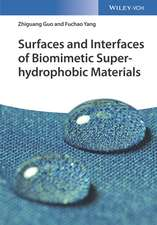 Surfaces and Interfaces of Biomimetic Superhydrophobic Materials