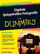 Digitale Spiegelreflex–Fotografie für Dummies