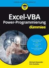 Excel–VBA Alles in einem Band für Dummies
