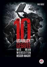 Die zehn Usability–Gebote