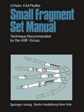 Small Fragment Set Manual: Technique Recommanded by the ASIF-Group