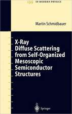 X-Ray Diffuse Scattering from Self-Organized Mesoscopic Semiconductor Structures