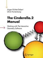 The Cinderella.2 Manual: Working with The Interactive Geometry Software