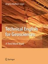 Technical English for Geosciences: A Text/Work Book