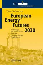 European Energy Futures 2030: Technology and Social Visions from the European Energy Delphi Survey