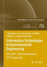 Information Technologies in Environmental Engineering: ITEE 2007 - Third International ICSC Symposium