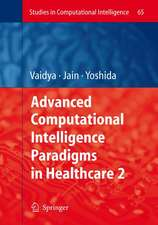 Advanced Computational Intelligence Paradigms in Healthcare - 2