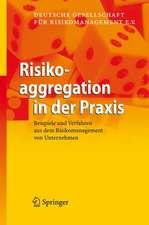 Risikoaggregation in der Praxis: Beispiele und Verfahren aus dem Risikomanagement von Unternehmen