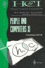 People and Computers XI: Proceedings of HCI'96