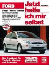 Ford Focus / Focus Turnier ab Oktober 1998. Jetzt helfe ich mir selbst