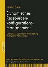 Dynamisches Ressourcenkonfigurationsmanagement