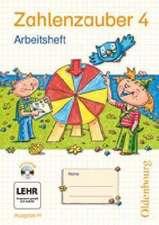 Zahlenzauber 4 Ausgabe H. Arbeitsheft mit CD-ROM