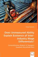 Does Unmeasured Ability Explain Existence of Inter-Industry Wage Differentials?