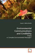 Environmental Communications and Credibility