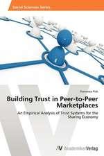 Building Trust in Peer-to-Peer Marketplaces
