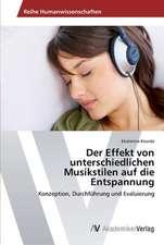 Der Effekt von unterschiedlichen Musikstilen auf die Entspannung