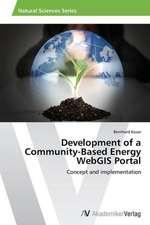 Development of a Community-Based Energy WebGIS Portal