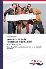 Importancia de La Responsabilidad Social Universitaria:  Tratamiento Con Acido Lipoico