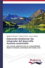 Educacion Ambiental:  Eje Integrador del Desarrollo Humano Sustentable