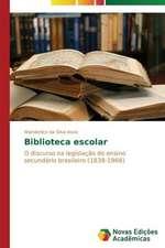 Biblioteca Escolar:  O Caso de Mato Grosso - Brazil