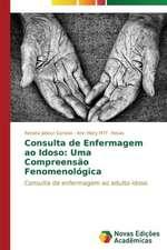 Consulta de Enfermagem Ao Idoso:  Uma Compreensao Fenomenologica