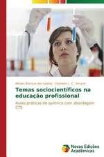 Temas Sociocientificos Na Educacao Profissional:  Um Estudo de Caso