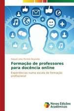Formacao de Professores Para Docencia Online:  Anjo Negro E a Falencia Da Familia
