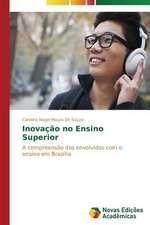 Inovacao No Ensino Superior:  Educ