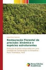 Restauracao Florestal de Precisao:  Dinamica E Especies Estruturantes