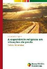 A Experiencia Religiosa Em Situacoes de Perda:  Uma Tematica Para O Ensino de Quimica Organica