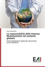 La Responsabilita Delle Imprese Multinazionali Nel Contesto Globale