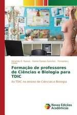 Formacao de Professores de Ciencias E Biologia Para Tdic:  Analisando Secchin E Joao Cabral
