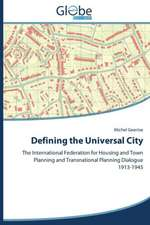 Defining the Universal City
