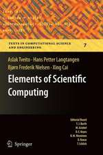 Elements of Scientific Computing