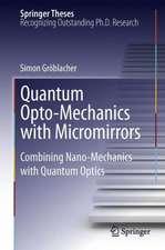Quantum Opto-Mechanics with Micromirrors: Combining Nano-Mechanics with Quantum Optics