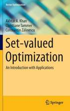 Set-valued Optimization: An Introduction with Applications