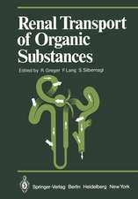 Renal Transport of Organic Substances