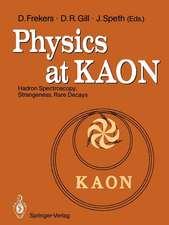 Physics at KAON: Hadron Spectroscopy, Strangeness, Rare Decays Proceedings of the International Meeting, Bad Honnef, 7–9 June 1989